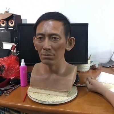 汉族人物蜡像
